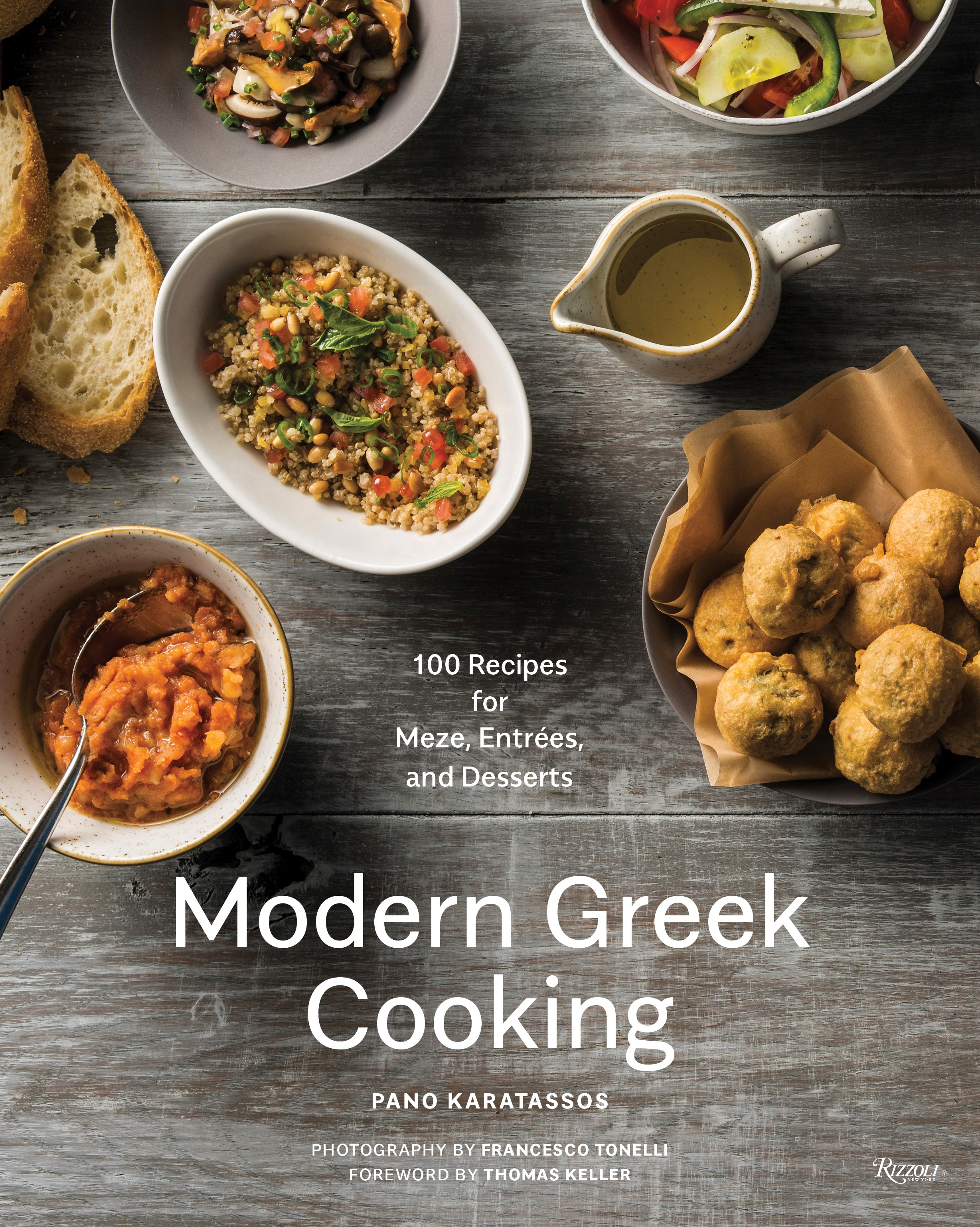 Cook the Book: Modern Greek Cooking with Chef Pano Karatassos