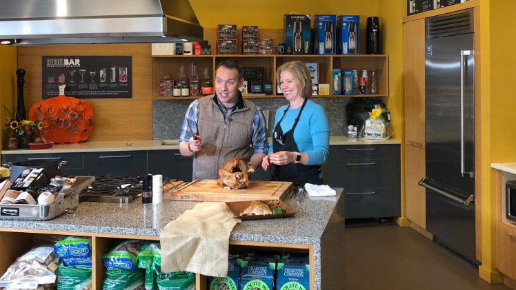 How to Carve a Thanksgiving Turkey with Fox 5 Featuring Mary Moore & Paul Milliken