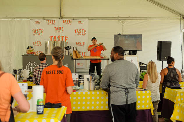 The Kitchen Workshop at Taste of Atlanta 2018