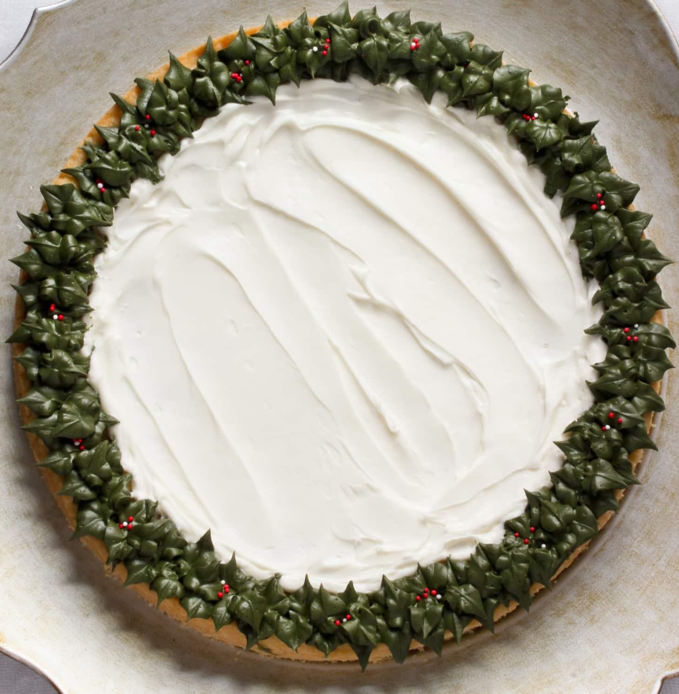 Christmas Sugar Cookie Cake