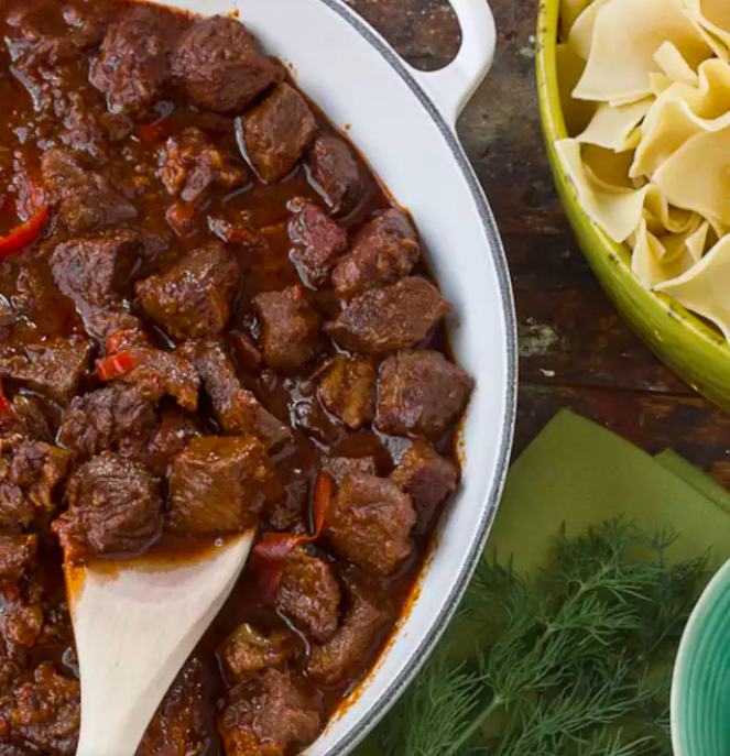 Late Winter Recipe: Beef Goulash